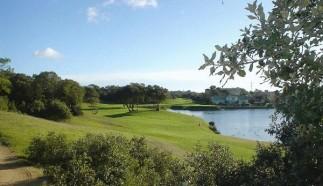 le lac du golf
